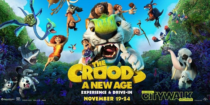 The Croods A New Age Drive In Screenings November 19 24 Animation World Network