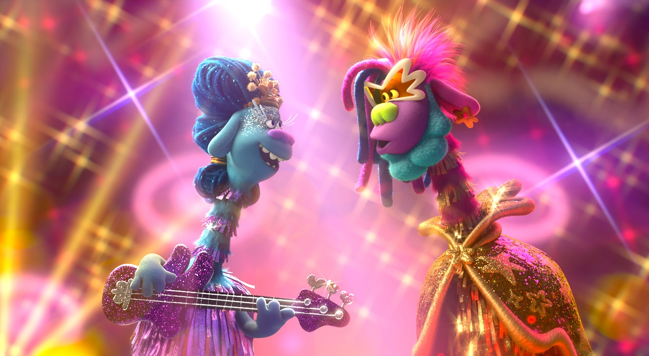 Music And Fiber Collide Melodiously In Trolls World Tour Animation World Network
