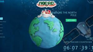 NORAD and Poser Track Santa