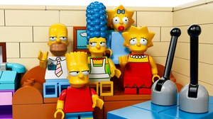 Official 'Simpsons' LEGO Set Available Feb 1.