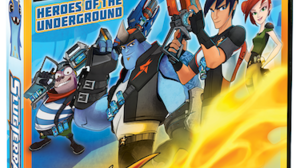'Slugterra: Heroes of the Underground' on Disc March 4