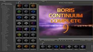 Boris FX Announces Boris Continuum Complete 9