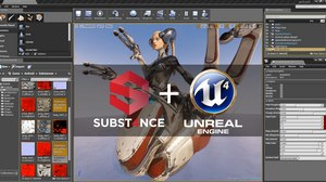 Allegorithmic's Substance Engine Integrates with Unreal Engine 4