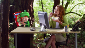 Calabash Animation Heads to the Office for Lucky Charms
