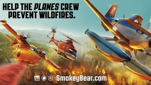 Disney's 'Planes' Crew Teams with Smokey Bear