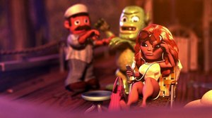 Side Effects Software, Toonlets Animation Team for 'Monstro!' Short