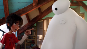 Watch Hiro Meet Baymax in New 'Big Hero 6' Clip