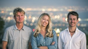Ben Gibbs, Jan Cilliers and Celest Gilbert Launch Girl Overboard