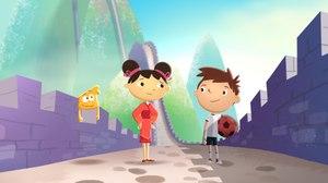 Guru and Ciwen Take 'Justin Time' to China