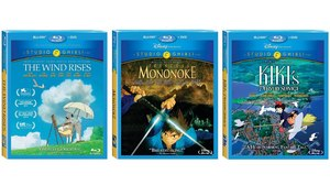 Three Hayao Miyazaki Films Now Available on Blu-Ray