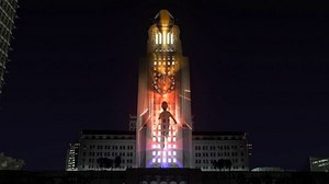 yU+co Creates 22-Story Projection Mapping Spectacular for Grand Park's N.Y.E. L.A.