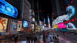 Marco Brambilla and Ntropic Light Up Times Square with ApolloXVIII