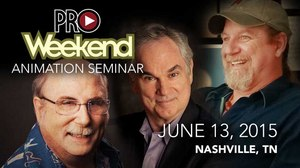 ProWeekend Animation Seminar – Learn, Be Inspired, Meet Other Artists