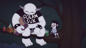 Aaron Augenblick Talks 'Golan the Insatiable'