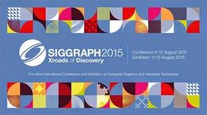 SIGGRAPH Announces 2015 Production Sessions