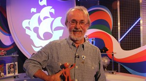 Aardman's Peter Lord Honored with Gold Badge from Blue Peter