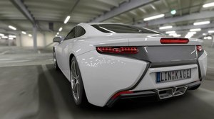 Linkage Design Revs Up High-End Car Animations with VRED and Qube!
