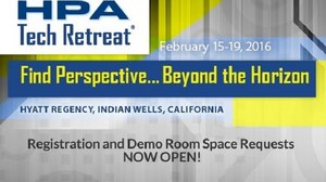 Registration Now Open for the 2016 HPA Tech Retreat