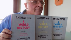 MY CHRISTMAS WISH LIST: ANIMATION – A WORLD HISTORY  (3 volumes) , by Giannalberto Bendazzi