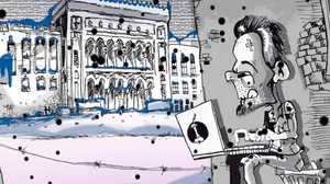 Bosnia's Berin Tuzlic Unveils New Animated Short, 'I run away even if I am not guilty'