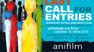 15 January Deadline for Film Submissions - Anifilm  Trebon
