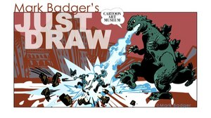 Cartoon Art Museum Presenting 'Just Draw' Workshop with Mark Badger