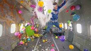 OK Go's 'Upside Down & Inside Out' is the First Music Video Shot Entirely in Zero Gravity
