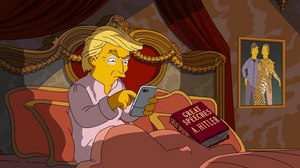 New Short from 'The Simpsons' Skewers the 2016 Election