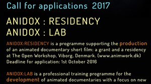Call for Entries - Anidox Residency and Anidox Lab in Viborg, Denmark