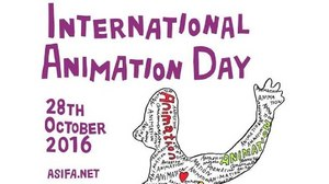 Yoji Kuri Designs Official Poster for International Animation Day 2016