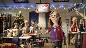 Aardman Creates Animated Holiday Campaign for DFS