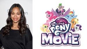 Zoe Saldana Joins Voice Cast of 'My Little Pony: The Movie'