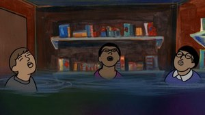 LOOK: GKIDS Unveils Storyboards and Concept Art from 'My Entire High School Sinking Into the Sea'