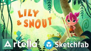Experience 3D Audio with Sketchfab's 'Lily & Snout'