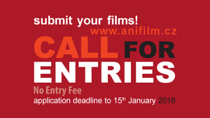 CALL FOR ENTRIES: Anifilm International Festival of Animated Films 2018