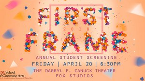 USC, Fox Animation Present 'First Frame' Showcase