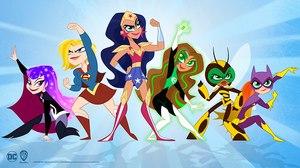 Lauren Faust Redesigns 'DC Super Hero Girls' for CN