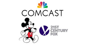 Comcast's $65 Billion Cash Offer Tops Disney's Bid for Fox