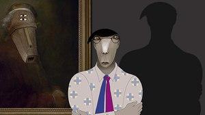 New Trailer for 'Ruben Brandt, Collector' Showcases A Stylish Blend of Art & Noir