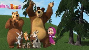 'Masha and the Bear' Plans July 31 National Bear Day Celebration in Canada