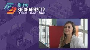 WATCH: SIGGRAPH 2019 Interview with NASA Animator Eleni Kostis