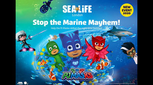 eOne and Merlin Bring 'PJ Masks' to Sea Life Aquariums Worldwide