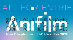 Anifilm 2022: Submit your films and games!