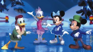 Twice Upon a Mickey: Transitioning from 2D to 3D