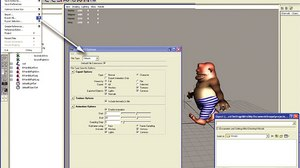 'Building Interactive Worlds in 3D': Creating a Walk Animation and Exporting to Virtools