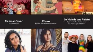 Women in Animation Name WIA Class of 2020 Showcase Best Short Film Winners