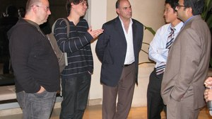 Oscar Tour Meets ICM Agents