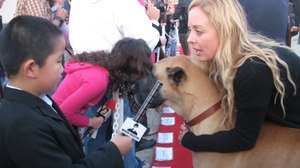 Movie Review & Red Carpet Interviews:  'Marmaduke'