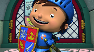 Mike The Knight Gallops Into France On TF1
