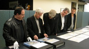 Oscar Tour LA Photo Gallery: Disney Animation Research Library (ARL)